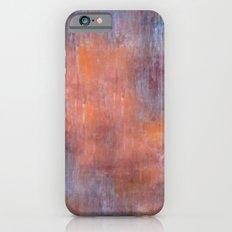 Orange Color Fog iPhone 6s Slim Case