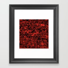 ASCII Framed Art Print