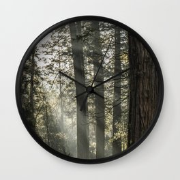 Sunbeams Wall Clock