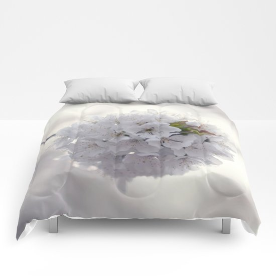 Cherry blossoms in Love Comforters