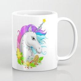 Xmas Unicorn Coffee Mug