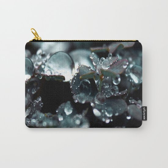 Crystal Drops Carry-All Pouch