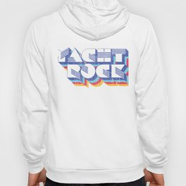 Psychedelic Fade Yacht Rock Party Boat Drinking print Hoody
