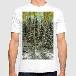 Colorado Autumn Snowstorm T-shirt