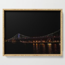 Bridge to Philly Serving Tray