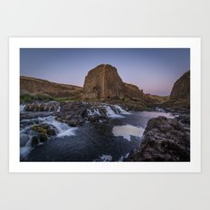 Palouse Falls - Washington USA 5 Art Print