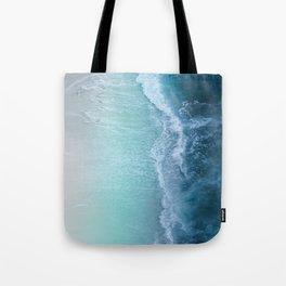 Turquoise Sea Tote Bag