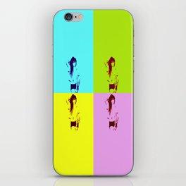 Synth-Pop Art iPhone Skin