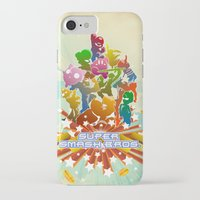smash bros iPhone & iPod Cases featuring Smash! by Jesse Musto