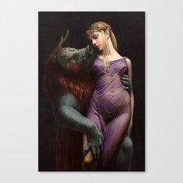 The Beast and The Princess Leinwanddruck
