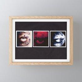 Study in Silver Framed Mini Art Print
