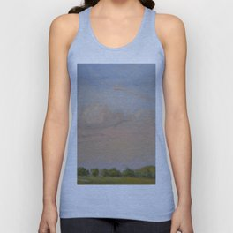Sunset Painting Unisex Tank Top