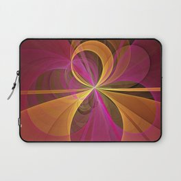 Luminous Colors, Abstract Fractal Art Laptop Sleeve
