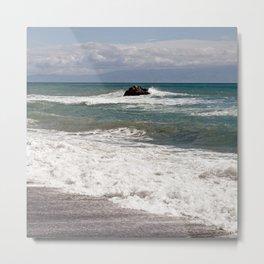 POWER OF THE SEA - SICILY Metal Print