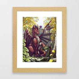 Mending the Dragon Framed Art Print