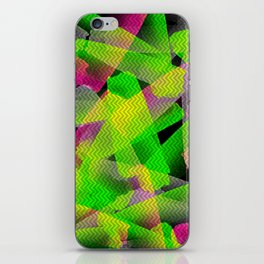 I Don't Do Normal - Abstract Print iPhone Skin