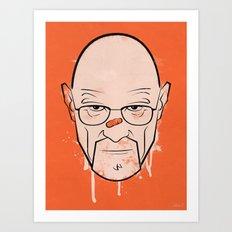 Walter White - Breaking Bad Art Print