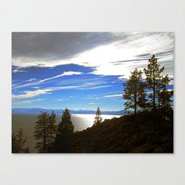 Shadowy North Lake Tahoe Canvas Print