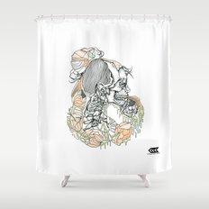 H (er) Shower Curtain