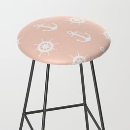 AFE Anchor and Helm Wheel Bar Stool