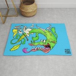 The Luck Dragon Rug