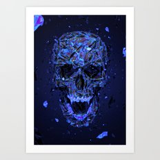 Dissolving Art Print