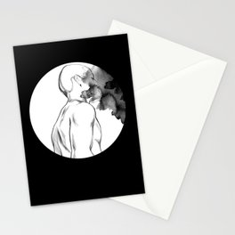 Full Moon Madness Stationery Cards