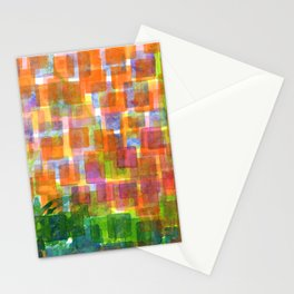 Magnified Detail of a Blossom Stationery Cards