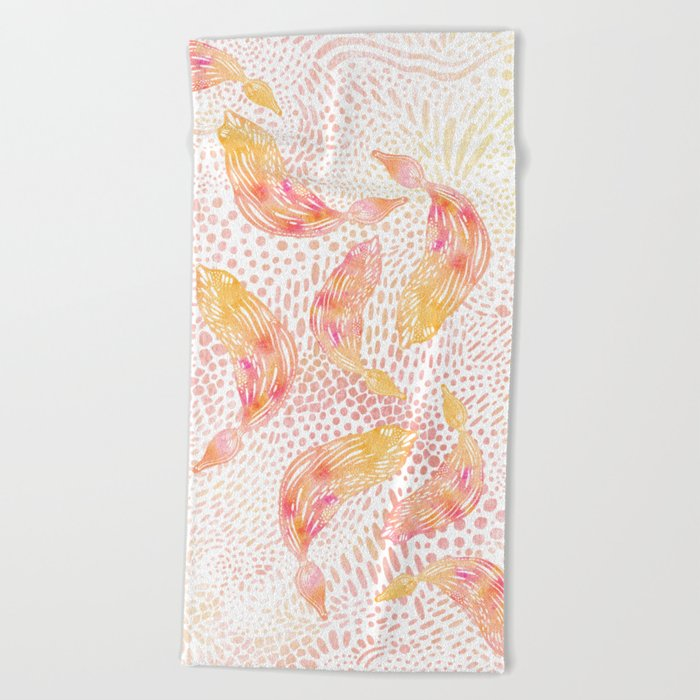 Kelp Dance Beach Towel