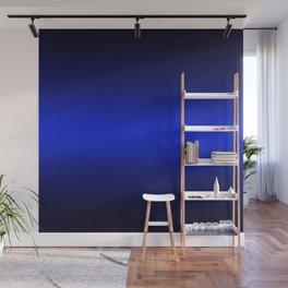 Gradient 8 black blue deepspace Wall Mural