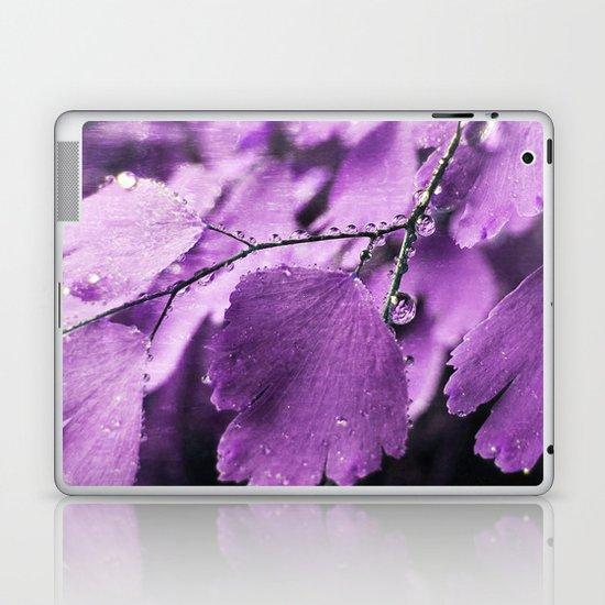 Lavender Fern Laptop & iPad Skin