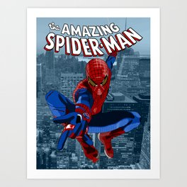 Amazing Spider-Man (Comic Title) Art Print