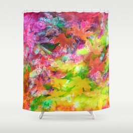 Autumn's Intent Shower Curtain