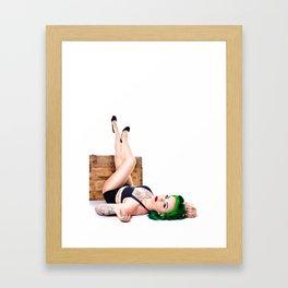 Lea Graves Pinup Framed Art Print