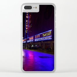 Reflections of Radio City Music Hall Clear iPhone Case