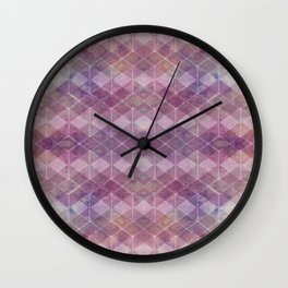 abstract pattern PK Wall Clock