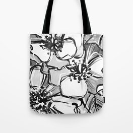 53/365 Black and White Tote Bag
