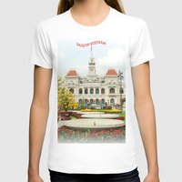 vietnam T-shirts featuring saigon-vietnam by nguyenkhacthanh