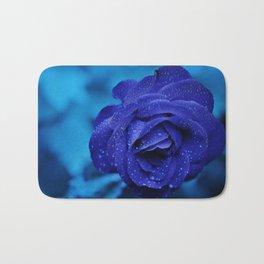 Blue Rose Haze Bath Mat