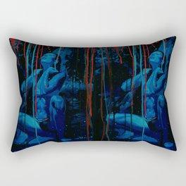 Blue Water Rectangular Pillow