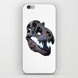 The Dinosaur Skull (Color) iPhone Skin