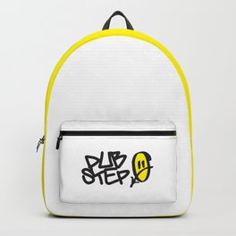 Dubstep Smile EDM Quote Backpack
