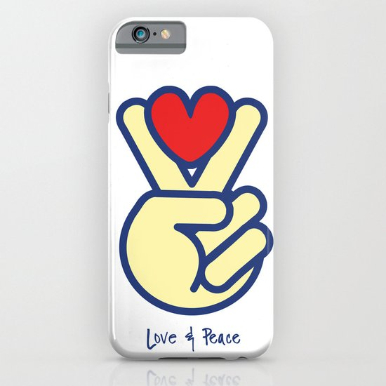 Love & Peace iPhone & iPod Case