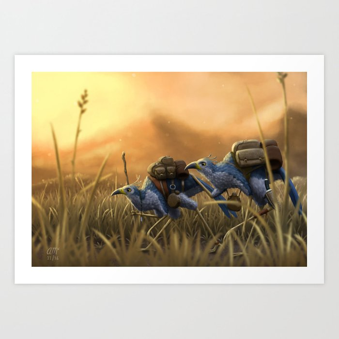 Wanderers Art Print