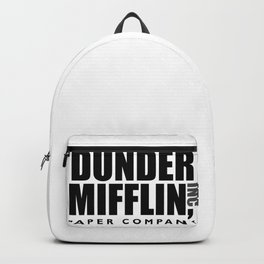 The Dunder Office Mifflin Inc. Design, T-Shirt, tshirt, tee, jersey, poster, Original Funny Gift Ide Backpack