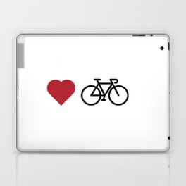 love my bike Laptop & iPad Skin