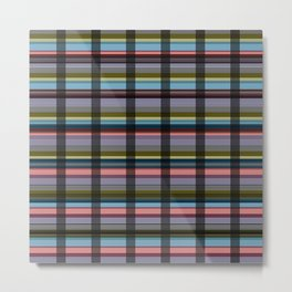 checkered background #society6 #decor #buyart #artprint Metal Print