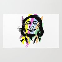 salvador dali Area & Throw Rugs featuring Salvador Dali by Art of Fernie