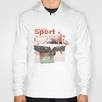 muscle Hoodies featuring Muscle Car by Tshirt-Factory