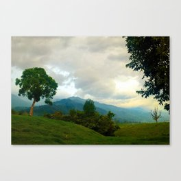 Colombian Countryside Canvas Print